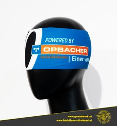 Funktionsstirnband mit Logo